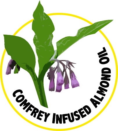 Comfrey Infused Almond Oil