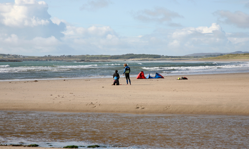 Beach at Rhosneigr, Isle of Anglesey, North Wales, Great Britain